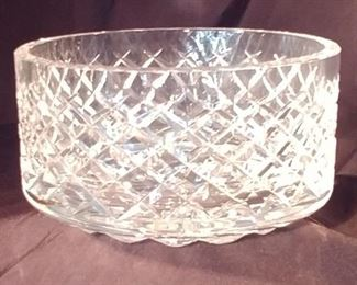 """50% OFF TODAY! Waterford Bowl 7"""" by 3.5"""" Asking $75.00"""