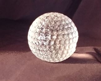 """50% OFF TODAY! Waterford Golf Ball 2.5"""" Asking $45.00"""