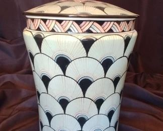 """50% OFF TODAY! Kenyon Thomas Jar with Lid 10"""" by 17"""" Asking $359.00"""