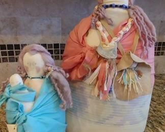 50% OFF TODAY! Native American Dolls by Jenniemarie Asking $56.00 for the pair