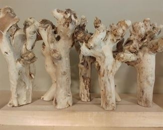 """50% OFF TODAY! Native American Roots of Small Trees 16"""" by 11"""" by 6"""" Asking $125.00"""
