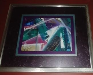 """50% OFF TODAY! Contemporary Art (A) Original Signed Same as Previous Artist 22"""" by 18"""" Asking $299.00"""