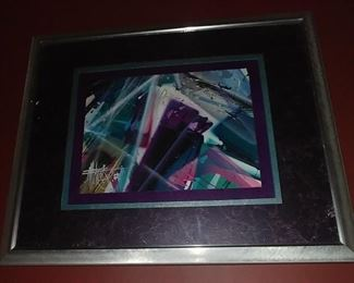 """50% OFF TODAY! Contemporary Art (B) Original Signed Same as Previous Artist 22"""" by 18"""" Asking $299.00"""