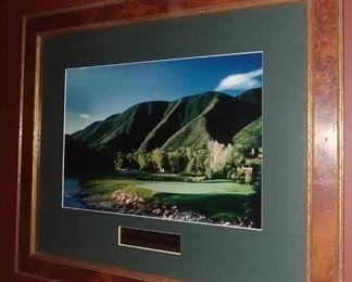 """50% OFF TODAY! 2001 Cutthroat Classic Rainbow Flight Winner Print Framed 21.75"""" by 18.25"""" Asking $125.00"""