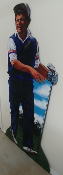 50% OFF TODAY! Lee Trevino Life Size Cutout Asking $199.00