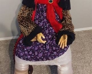 """50% OFF TODAY! Life Size Figure of a Woman 60"""" by 20"""" Asking $895.00"""