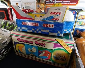 Tin Universe boat with box