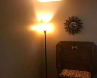 Very nice floor lamp, sun decor.