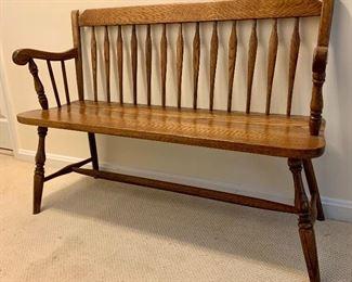 $175 Detail wooden bench