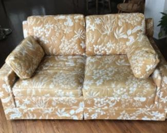 Upholstered Love Seat Sectional