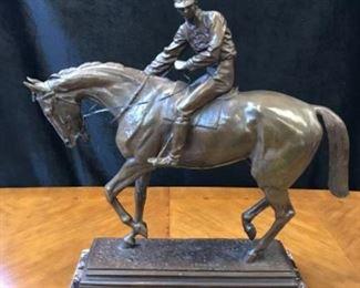 Bronze by Bonheur 23H X 26 W Est $5000-$7500  Opening Bid $1000