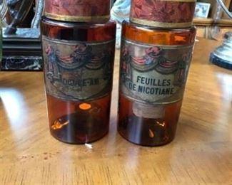 Apothecary Jar Est $600 Bid $100