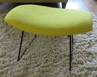 Harry Bertoia Bird Ottoman by Knoll