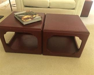 cube coffee table - set of 2 - $200 each