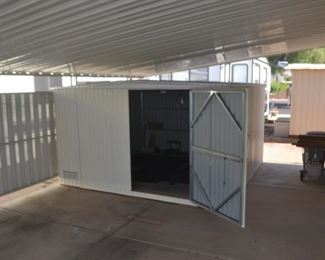 12 BY 12 SHED GOES WITH TRAILER