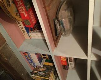 Old games, etc in attic