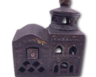 Small cast iron church. Bidding ends at 3 p.m. on 7-20-2020.  Register at https://auctions.mlestatesales.com.  Don't forget to check out our other auctions too!