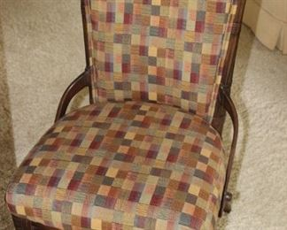 One of 4 dining chairs.