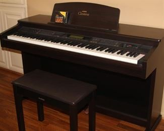 Yamaha Clavinova piano/organ/keyboard.