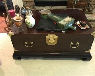 Asian chest/trunk