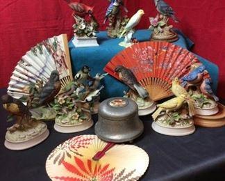 BA114 Bird Figurines