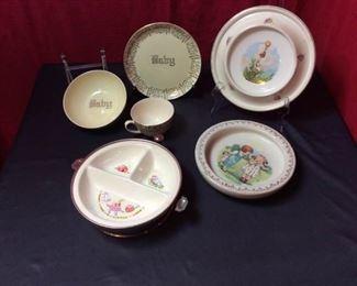 BA125 Vintage baby bowls