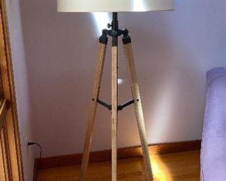 20% off of $225 Adjustable tripod lamp