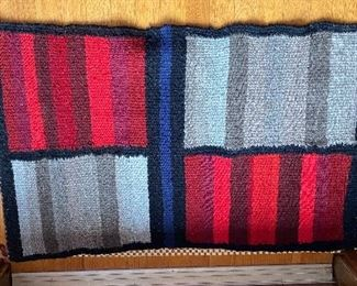"""20% off of $75 Hand woven rug 2' x 2'4"""""""