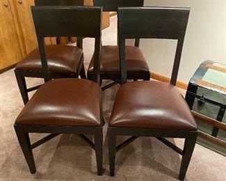 $125 Set of 4 Asher Benjamin chairs
