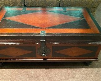 """20% off of $429 Baker """"Milling Road"""" large storage chest/coffee table"""