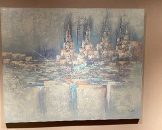 20% off of $145 Large painting on canvas