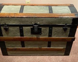 $75 Restored antique hump back trump