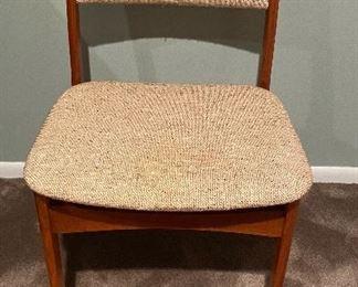 "20% off of $95 Danish Modern ""Jensen Handmade"" side chair"