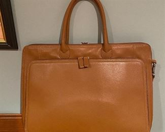 20% off of $75 Levenger leather brief case - EXCELLENT