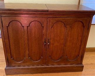 20% off of $229 Vintage serving cabinet - excellent bar!