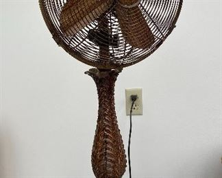20% off of $95 Victorian style oscillating fan