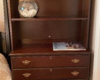 20% off of $169 File cabinet with bookcase top