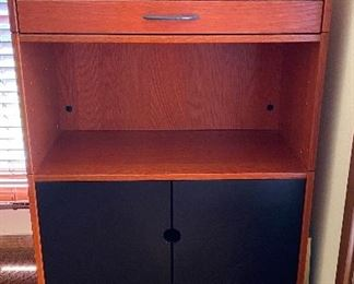 $169 Teak cabinet w/2 drawers