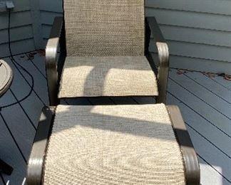 $49 Lounge chair w/ottoman
