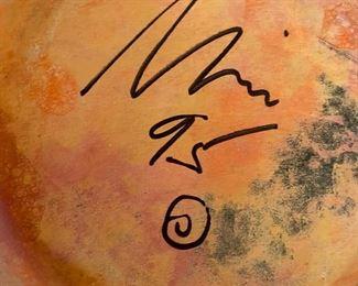 Nicholas Bernard signature
