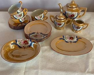 20% off of $45 - Vintage child's tea set
