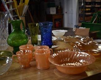 Vases, Bowls, Glass