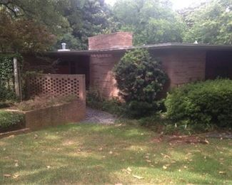 This (Dave Wilcox designed) Mid-Century Modern house has sold. The contents must go.