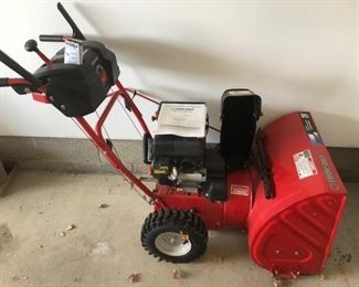 Get ready for next Winter with this snowthrower!