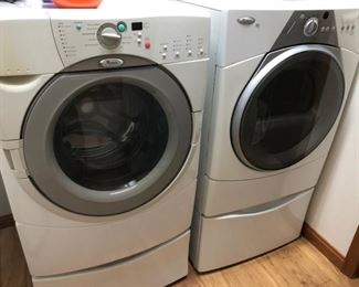 Washer and Electric Dryer Set!