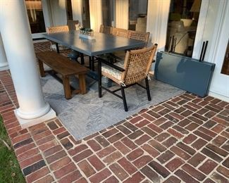 Arhaus Tuscany Extension Table w/ Leaves