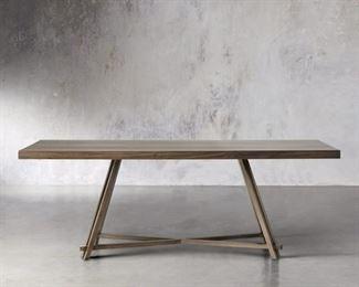 "Arhaus Nika Dining Table    Dimensions: 72"" W X 36"" D X 30"" H"