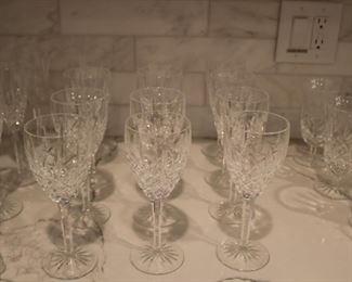 Waterford Crystal Araglin Wine Glass Stemware