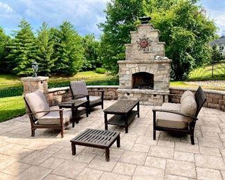 Outdoor furniture patio set