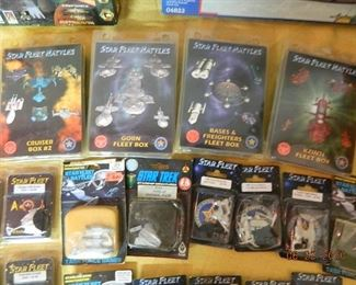 Star Fleet collectibles